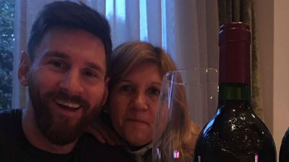 La mamá de Messi, opinóloga: se metió en la rivalidad entre Nicole y Pampita