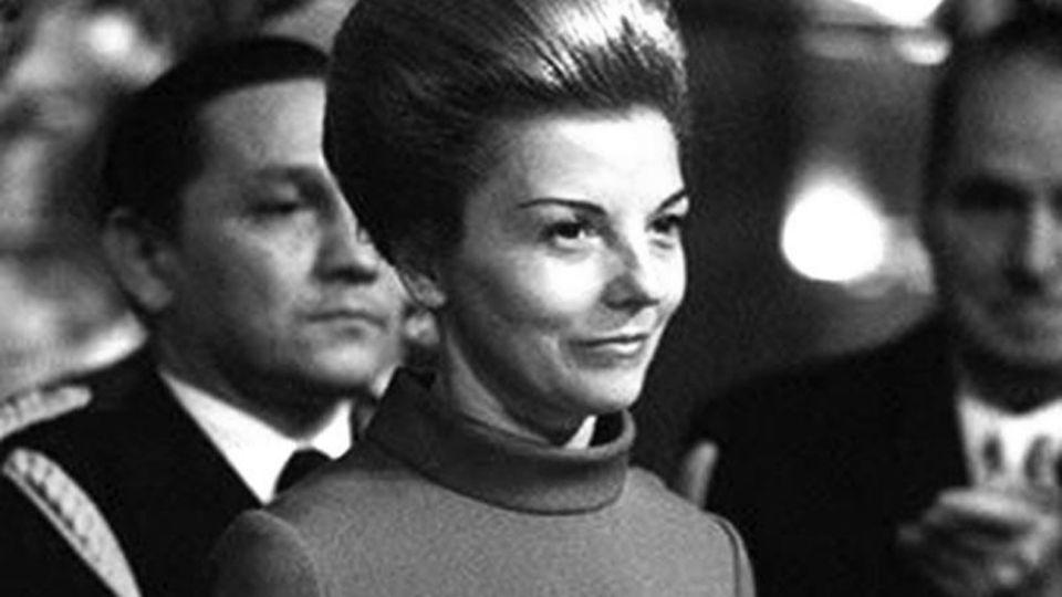 """María Estela Martínez de Perón, """"Isabelita"""", nació en La Rioja en 1931 y fue la primera vicepresidenta argentina."""