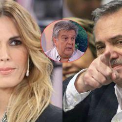 Ventura dijo que tiene entendido que la periodista sale con Alberto F.