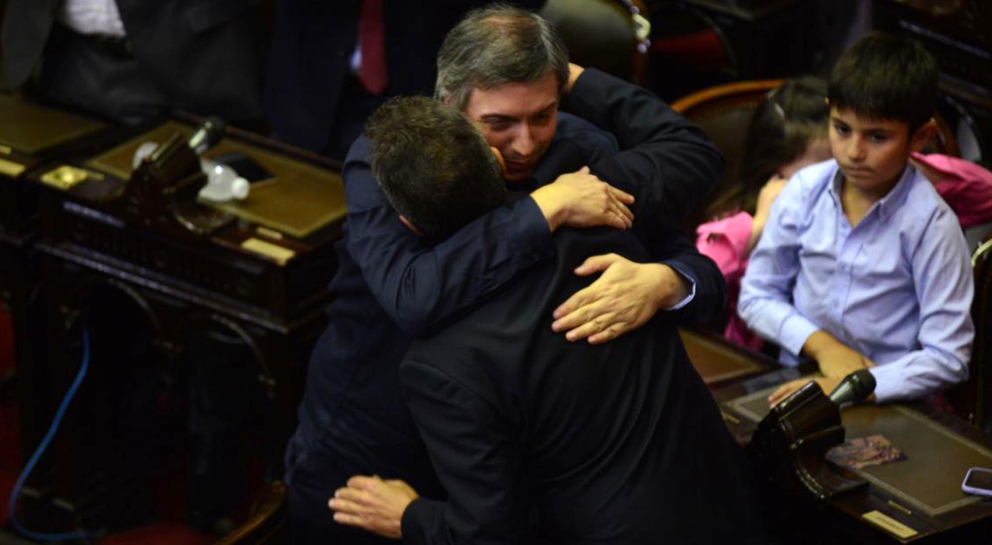Sergio Mazza es elegido presidente de la Cámara de Diputados durante la sesión preparatoria