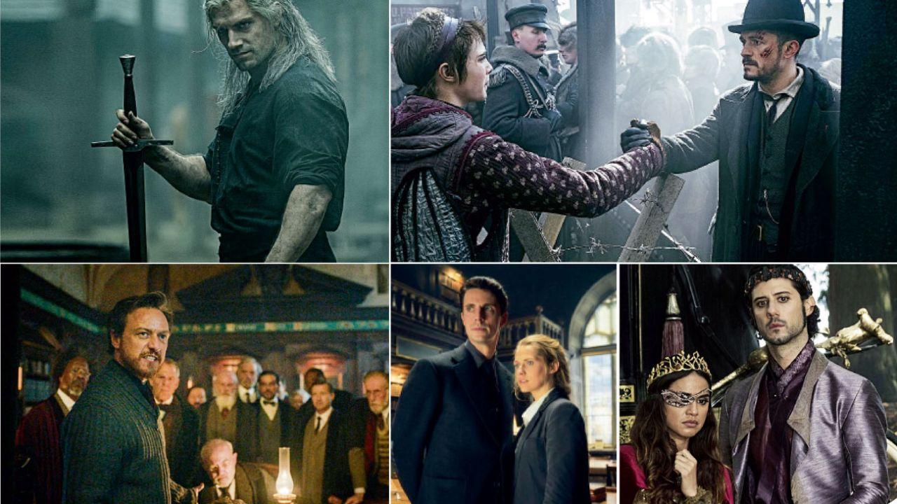 HBO, Netflix y Amazon no quisieron quedar afuera del mercado de las películas mágicas.    Foto:Cedoc