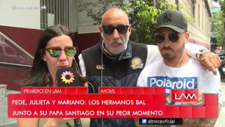El conmovedor video de los hijos de Santiago Bal hablando de su salud