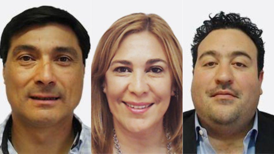 Antonio Carambia, Beatriz Avila, Pablo Ansaloni