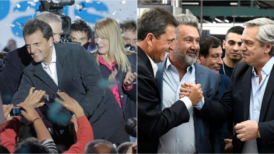 Massa en 2017 se postuló como senador por 1País, en 2019 será el presidente de la Cámara de Diputados por el Frente de Todos.