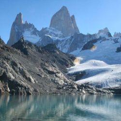 A lo largo del sendero se pueden apreciar 10 glaciares.