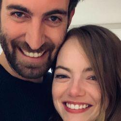 Emma Stone anunció su compromiso con Dave McCary