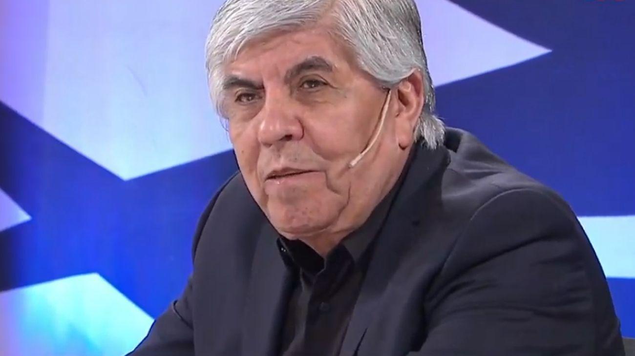 El secretario General del Sindicato de Camioneros, Hugo Moyano