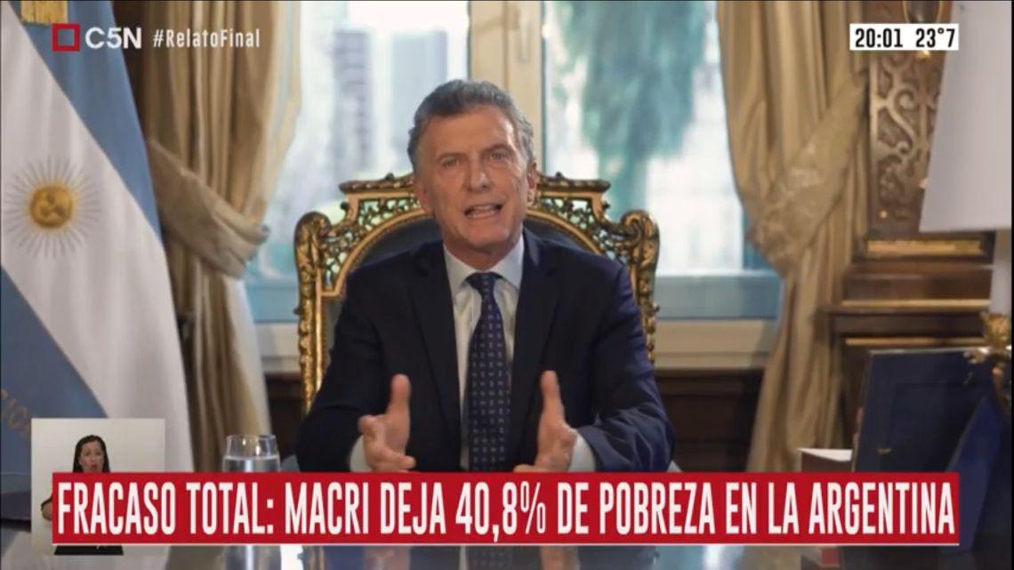 Macri en cadena nacional 1 | Foto:Cedoc
