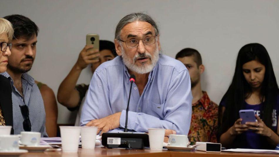 El diputado por Formosa, Luis Basterra, juró ayer.