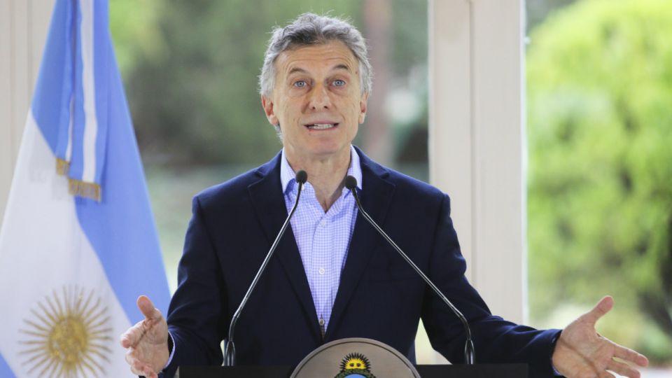 mauricio macri presidente olivos
