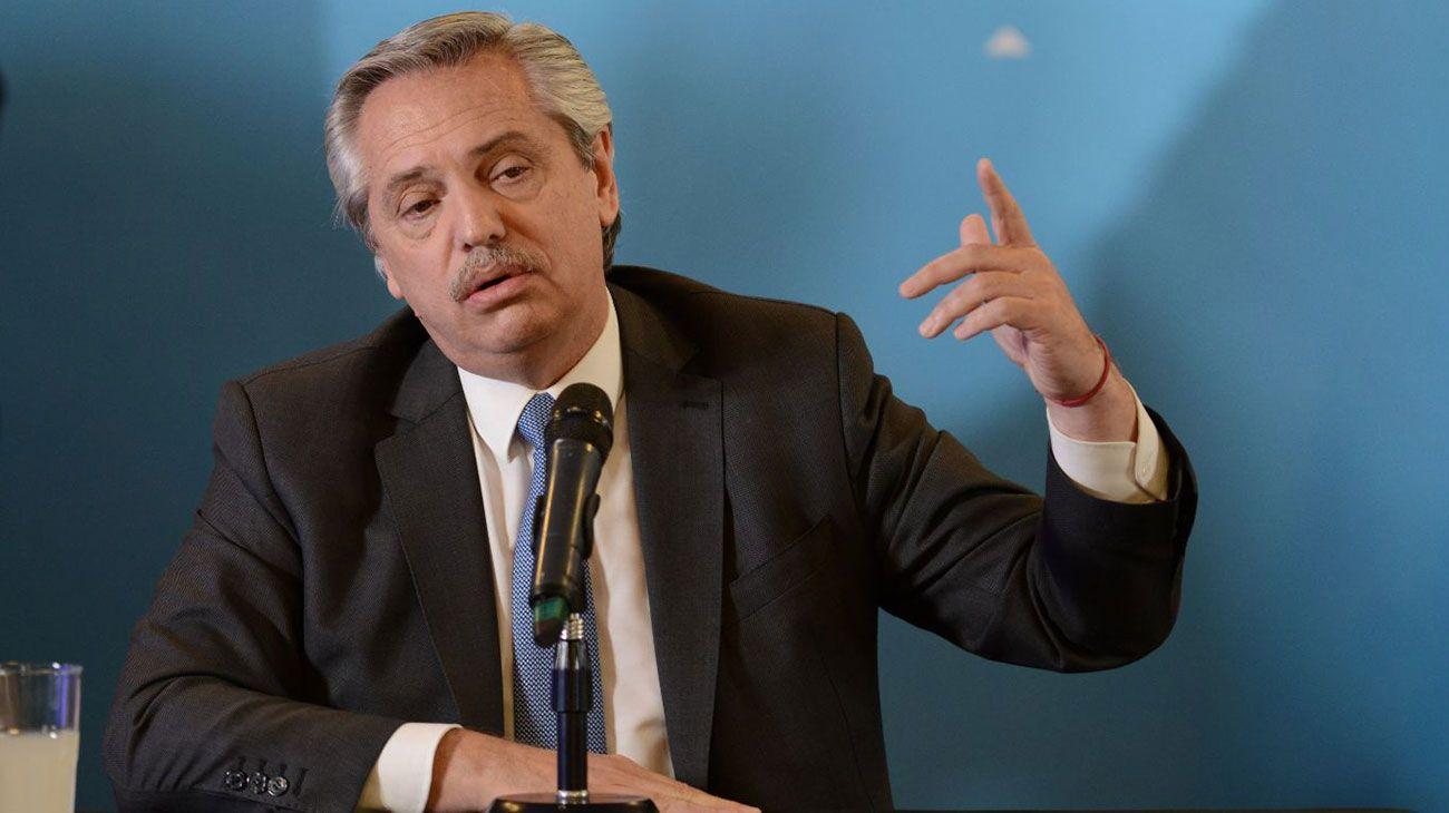 Alberto Fernández presenta su gabinete