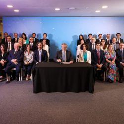 Alberto Fernández presentó su gabinete | Foto:Cedoc