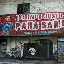 Amilcingo. El pueblo del centro de México llora la muerte del activista Samir Flores, quien desde su programa radial se oponía a la instalación de una termoeléctrica. Fue asesinado en febrero.   Foto:DPA