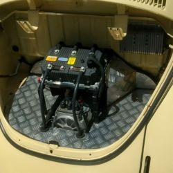 Convertir un auto a eléctrico en Argentina cuesta 8.000 dólares