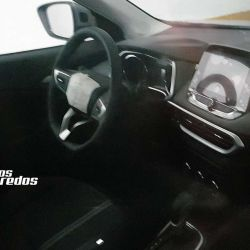Interior Chevrolet Tracker (fuente: Autos Segredos)