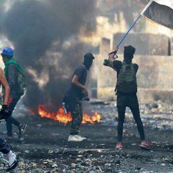 irak. Las manifestaciones contra el gobierno desataron la represión. Al cierre de esta edición se calculaban más de 400 muertos.  | Foto:AFP