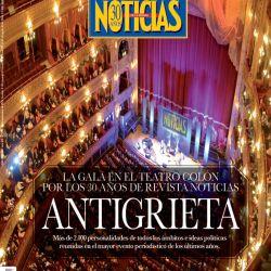 La espectacular gala por los 30 años de NOTICIAS en el Teatro Colón | Foto:cedoc