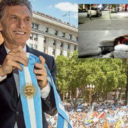 Cambiamos. Mauricio Macri, el día de su asunción. Pidió ser juzgado por la pobreza, que subió. | Foto:Cedoc