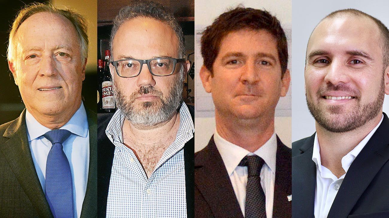 Nielsen, Kulfas, Abeles y Guzmán. El nuevo equipo para manejar la economía.