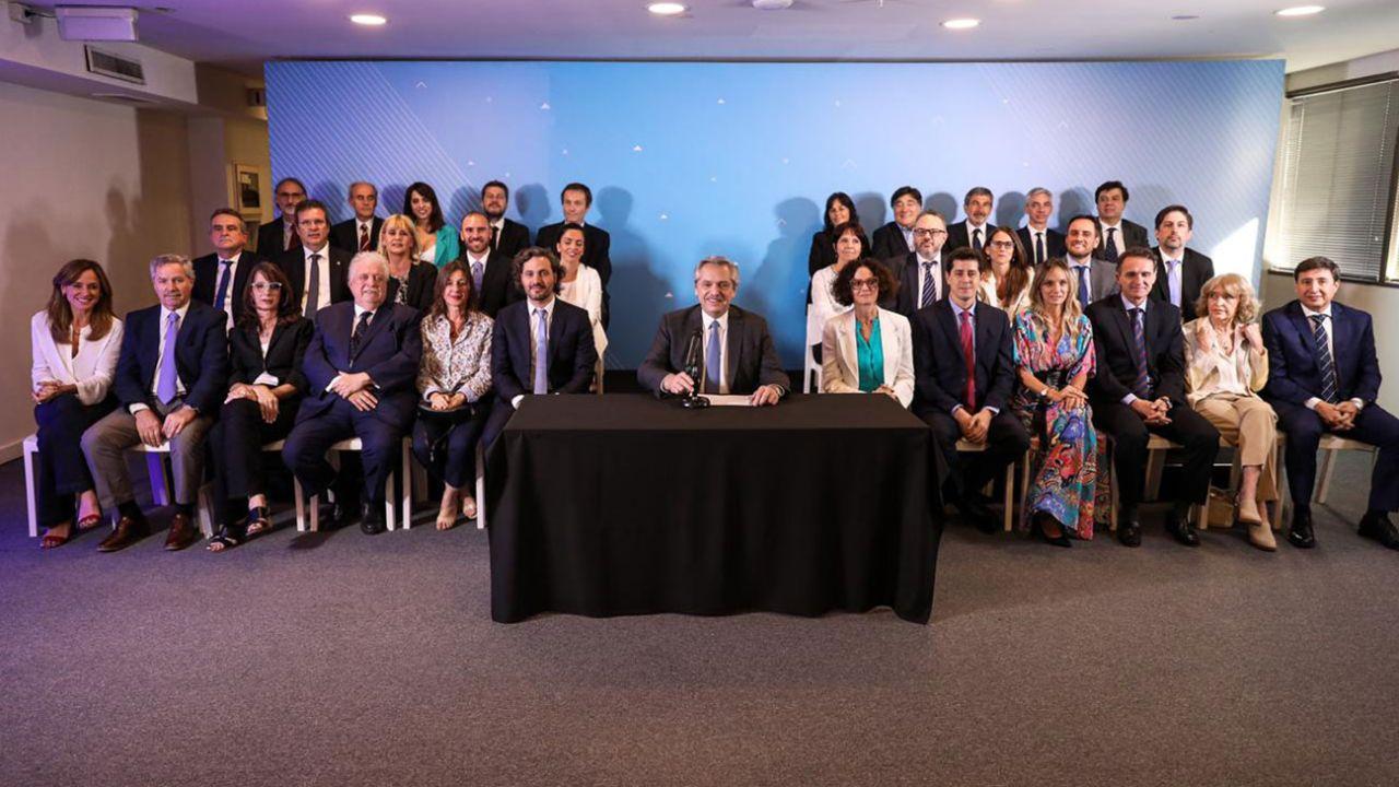 Uno por uno, quiénes son los integrantes del Gabinete de Alberto Fernández  | Perfil