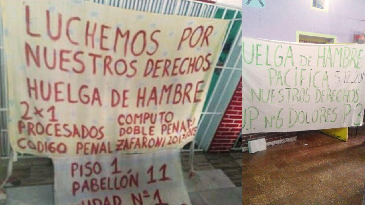 Huelga de hambre en cárceles de Provincia | Foto:Cedoc