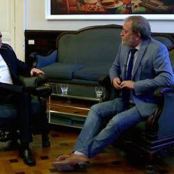Agustín Rossi y Edi Zunino   Foto:Cedoc