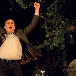 Daniel Martínez perdió el balotaje en una elección, que contra todos los pronósticos, fue la más pareja desde que existe este sistema de votación. | Foto:Fotos: Dante Fernández / FocoUy.