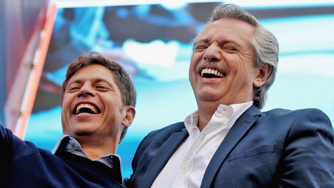 Axel Kicillof and Alberto Fernández.