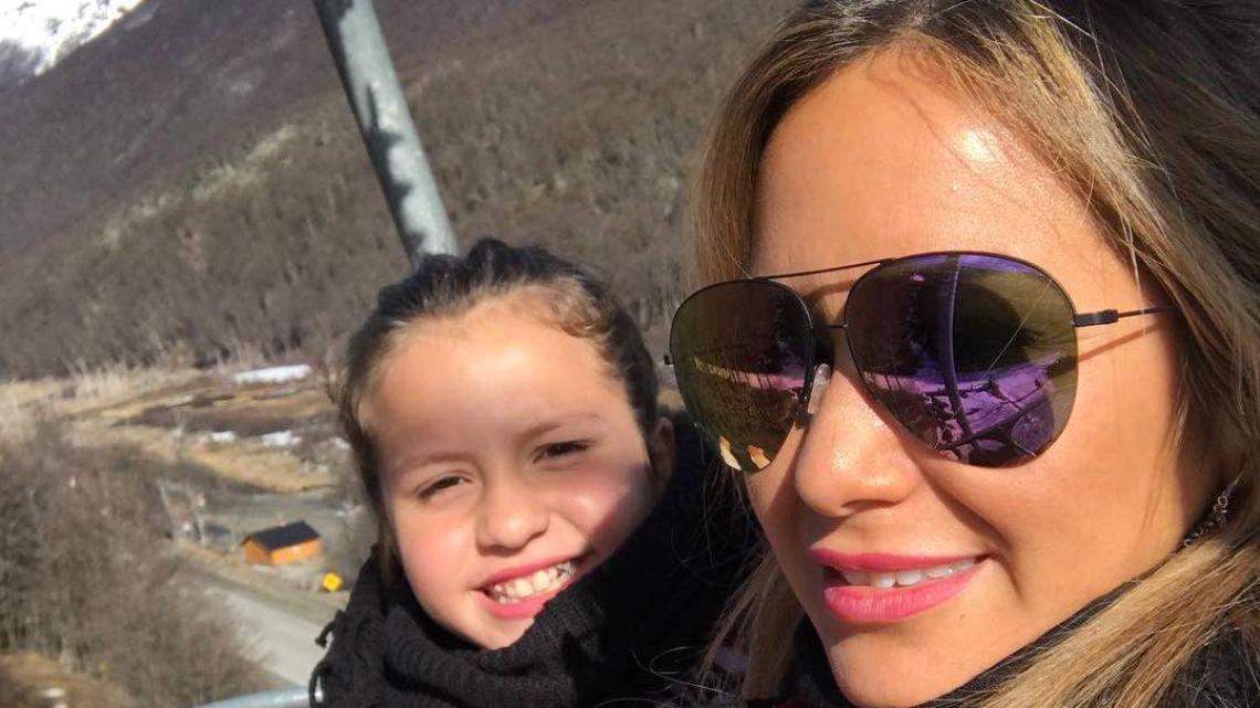 El mal momento de Karina, la princesita y su hija Sol