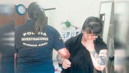Sandra Sepúlveda, la mujer de 40 años que desapareció el jueves en un sector que une la Maternidad del Hospital San Martín de La Plata.
