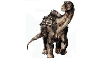 ILUSTRACIÓN. Representación del Yamanasaurus lojaensis.