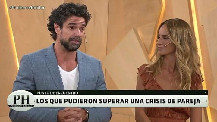 Luciano Castro y Sabrina Rojas contaron cómo superaron la crisis