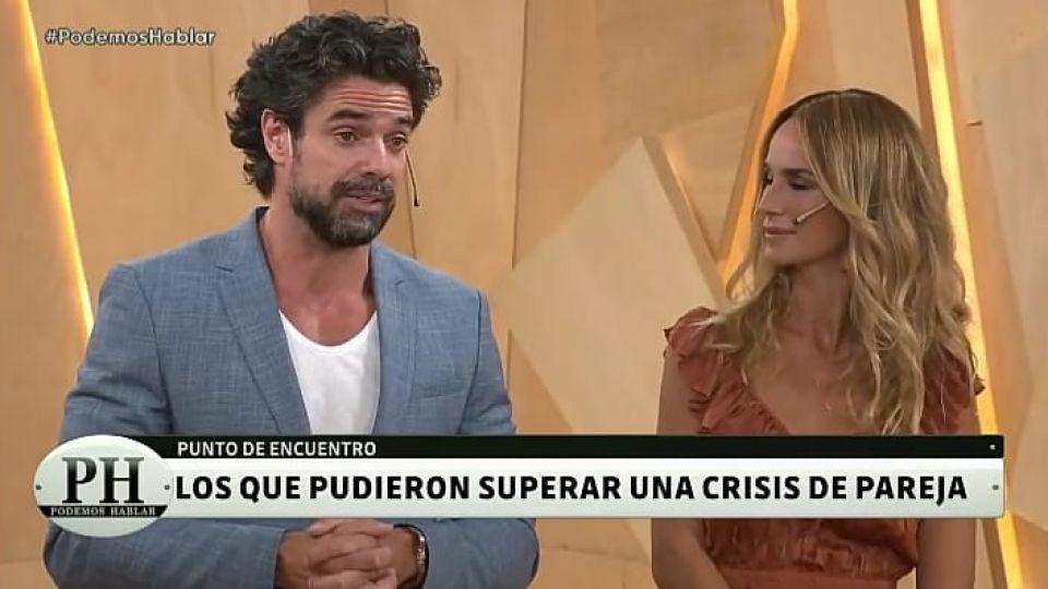 Luciano Castro y Sabrina Rojas en PH