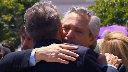 Mauricio Macri y Alberto Fernández se