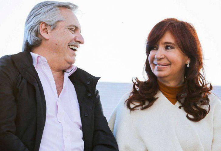 cristina kirchner y alberto fernandez campaña 20191208