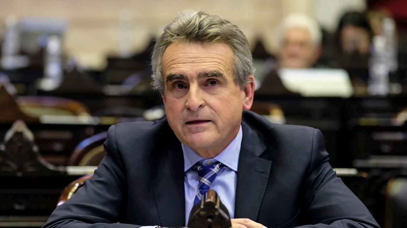 El diputado Agustín Rossi si irá del Congreso para ser ministro de Defensa.