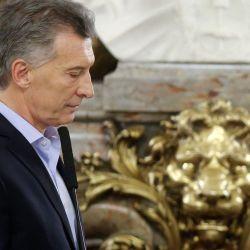 El adiós de Macri | Foto:Cedoc