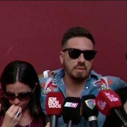 El llanto desconsolado de Federico Bal tras la muerte de su papá, Santiago