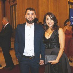 Federico Diberto y Victoria Donda