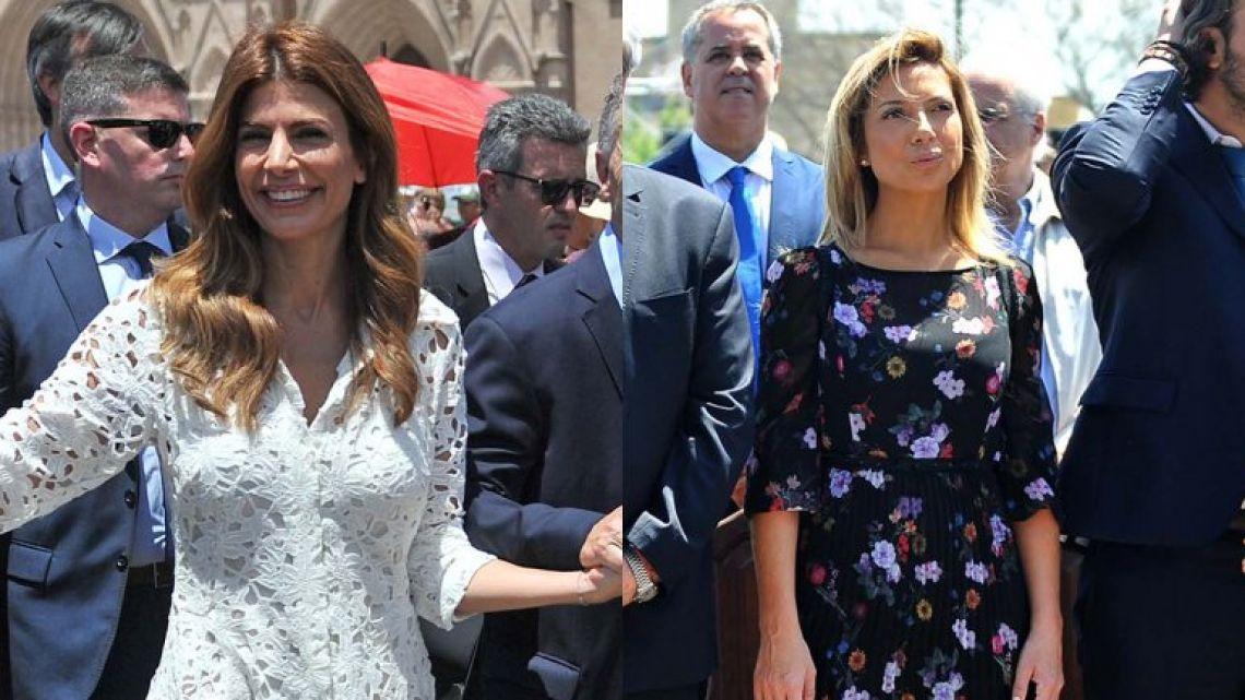 Duelos de estilos: Juliana Awada vs. Fabiola Yañez en la Misa por la Patria