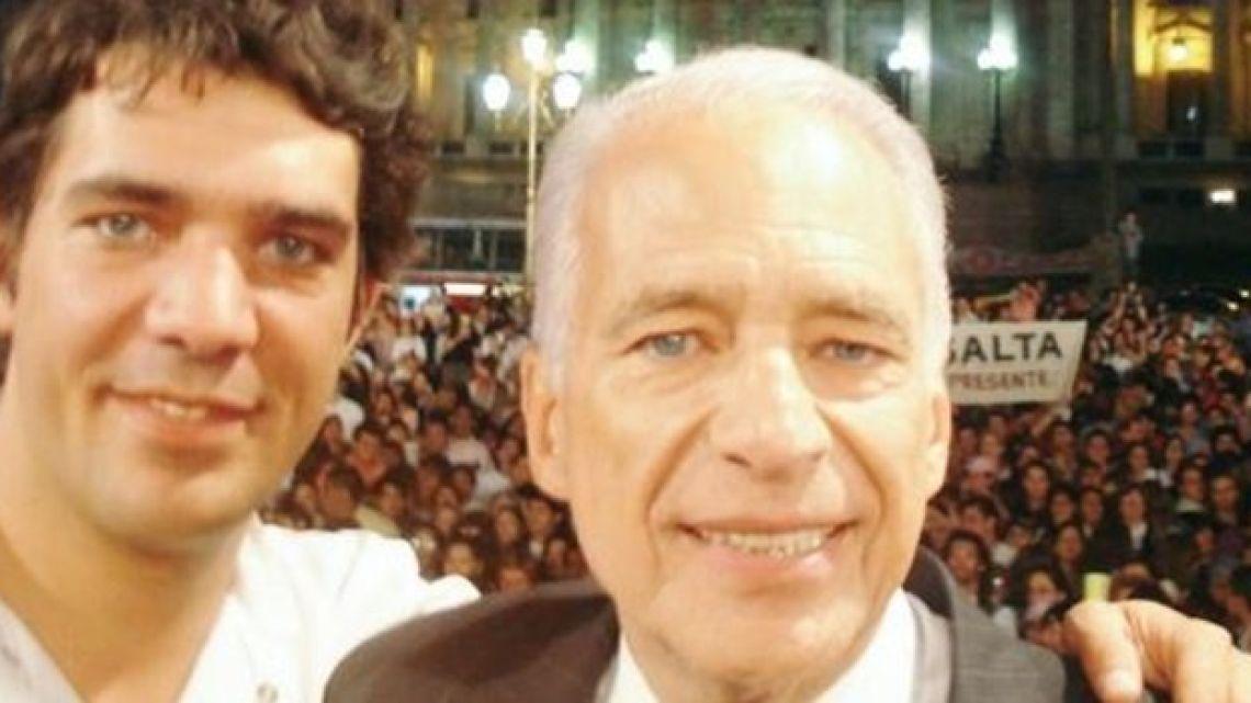 El insólito y particular regalo de boda de Adrián Cormillot a su papá