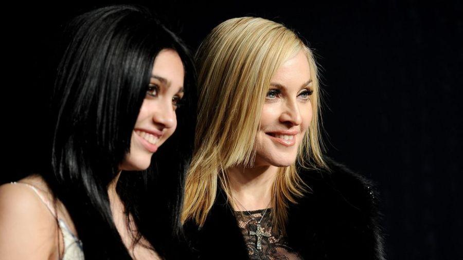 Madonna junto a su hija Lourdes