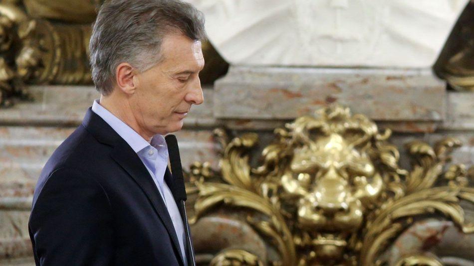 El adiós de Macri