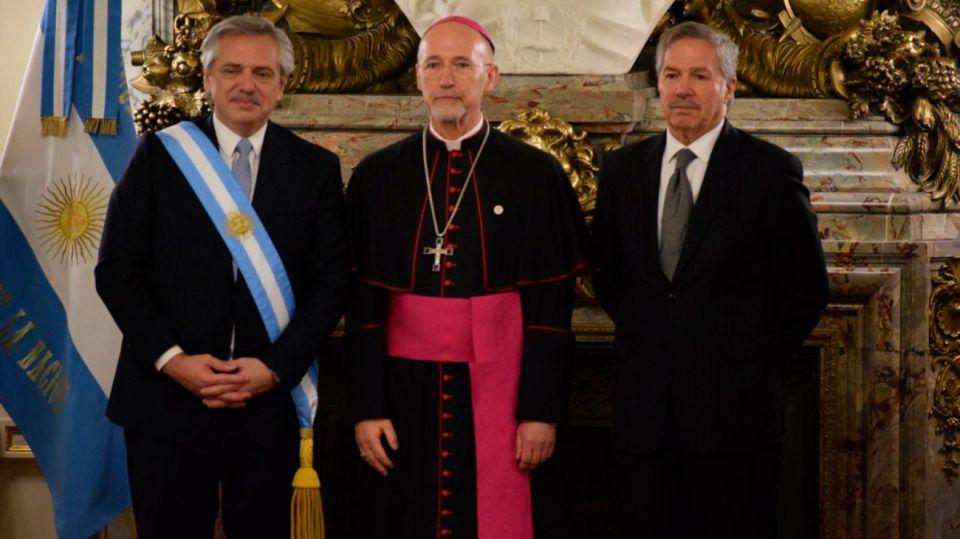 El nuncio Apostólico de Uruguay, el alemán Martín Krebs.