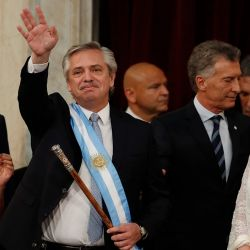A selection of photographs from the inauguration of Alberto Fernández as Argentina's new president.