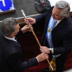 Las mejores fotos de la asuncion de Alberto Fernández a la Presidencia de la Nación
