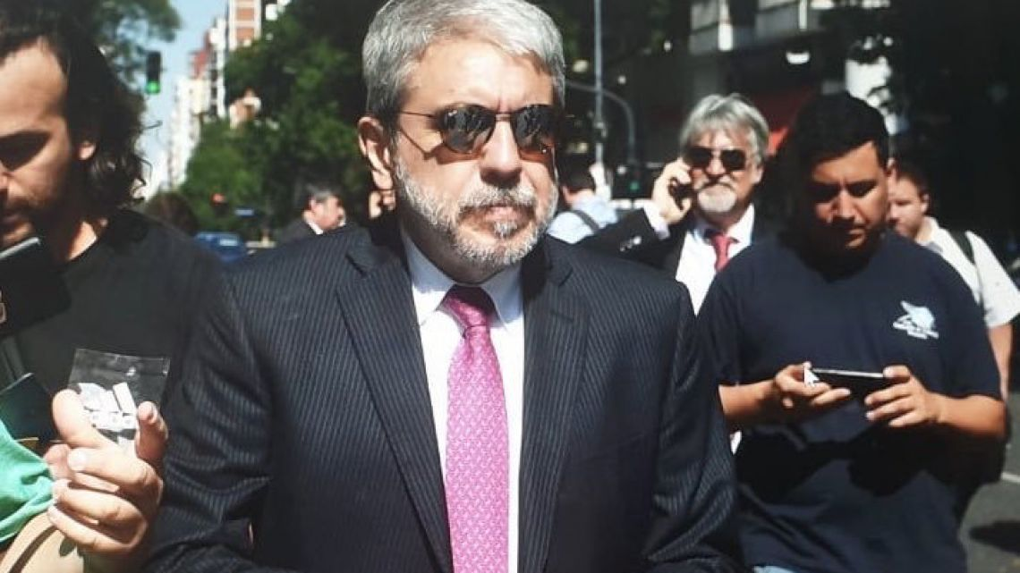 Aníbal Fernández   Foto:Cedoc