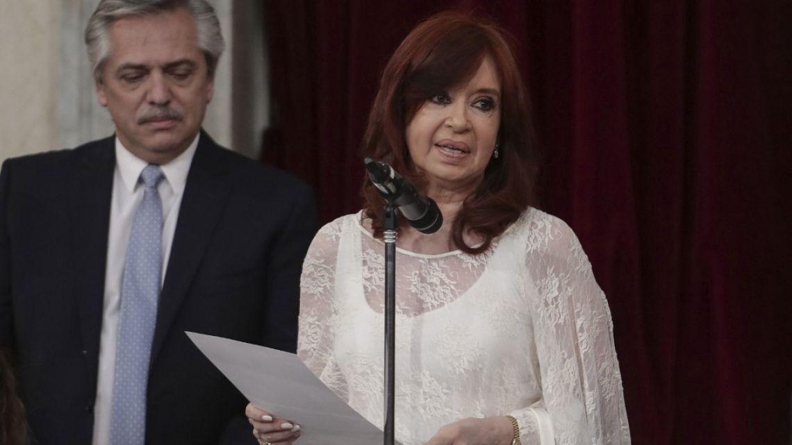 Cristina Kirchner sorprendió con su elegante look para la asunción