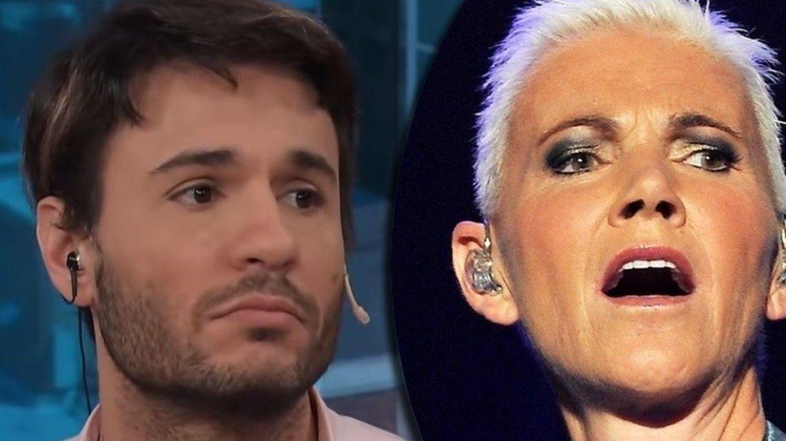 Tómas Dente devastado por la muerte de la cantante de Roxette