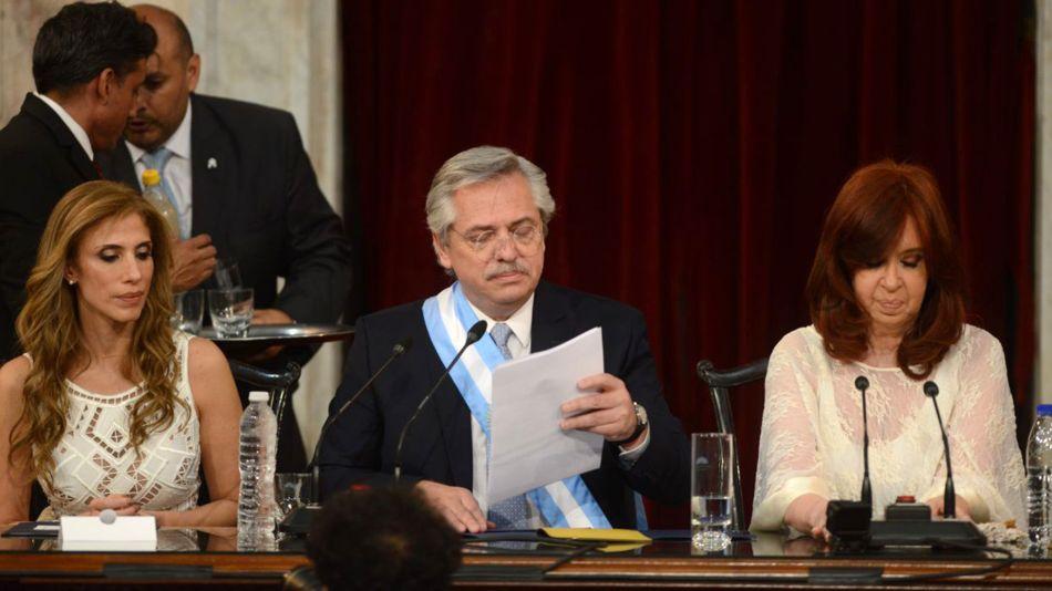 Alberto Fernández, discurso de asunción.